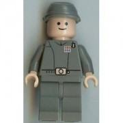 LEGO Star Wars: Imperial Officer (Luz Carne) Minifigura
