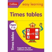 Times Tables Ages 7-11: New Edition by Collins Easy Learning