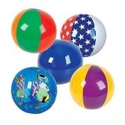 16 Beach Ball Assortment - 25 Pack by RIN