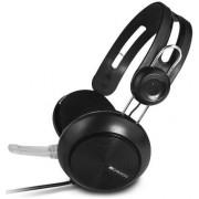Casti cu microfon Canyon CNE-CHSU1B, USB (Negru)