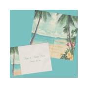 Paradise in Vellum Wedding Invitation Set