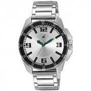 Fastrack Quartz Silver Round Men Watch 3084SM01