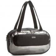 Geantă MOON BOOT - Mb Oval Bag Vinyl 44002500001 Black/Silver
