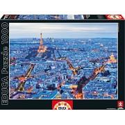 Educa - 16286 - Puzzle Classique - Lumières de Paris - 1000 Pièces