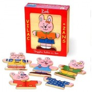 Vilac Moody Wood Puzzles Zoe the Rabbit