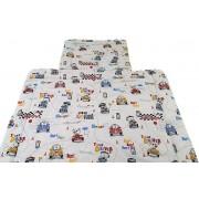 Gyerek 90x130 cm 2 részes ágynemű garnitúra - macis