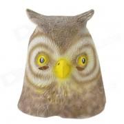 SYVIO Night Owl Mask - Brown + Yellow