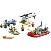 LEGO CITY City Starter Set Kids Building Playset - 242 Piece 60086