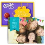 Chocobox - I love Milka! - Verjaardag - Bloem 110 gram