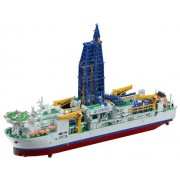 Bandai Hobby Scale 1/700 Scientific Deep Sea Drilling Vessel Chikyu Exploring Lab Series (japan import)