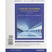 Linear Algebra and Its Applications, Books a la Carte Edition Plus Mymathlab with Pearson Etext -- Access Code Card by David C Lay