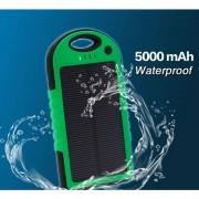 IP-PB-009 - SMART POWER BANK (POWER BANK и соларно зарядно в 1) с вградена акумулаторна батерия 5000mA за мобилни устройства