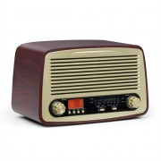 oneConcept Dabby-Holly Retro Radio AM / FM USB SD MP3 AUX