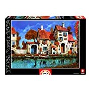 Educa 16316 Jigsaw Puzzle Guido Borelli - La Cascina Sul Lago (2000 Pieces)