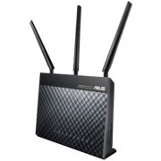 Router Wireless ASUS DSL-AC68U, Gigabit, Dual Band, 1900 Mbps, 3 Antene externe