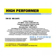 High Performer 5W-30 SAPS C3 BMW+MB 5 Litres Jerrycans