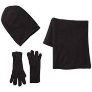 PIECES Ps Kalia Set Guantes para mujer, color schwarz (black), talla única