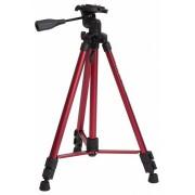 Rollei Fotopro DIGI 9300 stand cu cap 3D + geantă (roșu)