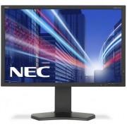 """Monitor IPS LED Nec 24.1"""" P242W, Full HD (1920 x 1200), VGA, DVI, HDMI, DisplayPort, 8 ms (Negru)"""