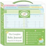 The Complete Baby Journal Organizer & Keepsake [With 12 Baby's Info Wallet Cards, 4 Emergency Cards and Growth Chart and 3 Baby Record Worksheets