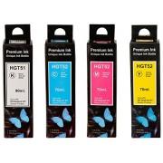 COMPATIBLE INK FOR HP GT51 GT52 COLOR SET REFILL INK BOTTLE FOR GT 5820 5810