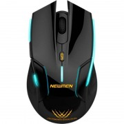 Mouse gaming Newmen E500 wireless black