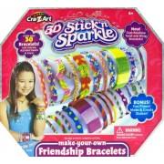 Cra Z Art Stick N Sparkle Make Your Own Friendship Bracelet Kit
