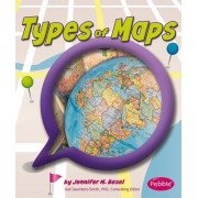 Types of Maps by Gail Saunders-Smith