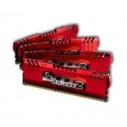 G.Skill RipJaws Z Series 16 Go (4x 4Go) DDR3 1866 MHz CL9 - Kit Quad Channel DDR3 PC3-14900 - F3-14900CL9Q-16GBZL (garan (F3-14900CL9Q-16GBZL)