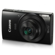Canon IXUS 190 Digital Camera (Black) with 8GB Memory Card and Camera Case