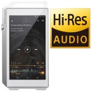PIONEER XDP100RS - Portabler HiRes Digital Audio Player, silber