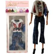 """Vêtements Fashion """"TRAVEL"""" pour poupée Barbie, Disney et autres poupées mannequins """"Série Limitée"""""""
