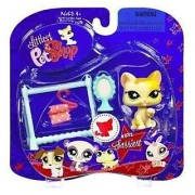 Littlest Pet Shop Assortment 'B' Series 2 Collectible Figure Cat with Clothes Rack and Mirror