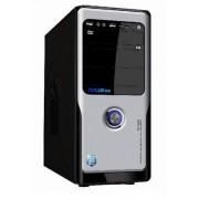 Carcasa MT457 - Middletower ATX, sursa 450W, negru / argintiu