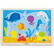 Drvene puzzle 24 kom - ocean