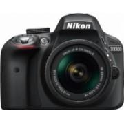 Aparat Foto DSLR Nikon D3300 KIT AF-P 18-55mm VR Negru
