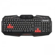 Геймърска клавиатура OMEGA KB-801 MM USB Red Gaming