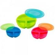 Детска Кутия за хранене с три отделения и капак - 1057 Babyono, 0320003