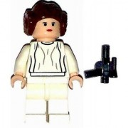 LEGO Star Wars Minifig Princess Leia White Dress