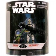 Star Wars Saga 2008 Exclusive Order 66 Action Figure 2-Pack Tsui Choi & Barc Trooper