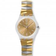 Reloj Swatch GE242B-Dorado Con Plateado