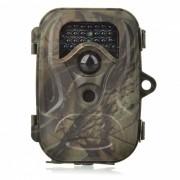 2?4'' TFT 12MP camara Wide Angle Caza w / LED 26-IR / Mini USB - Camouflage