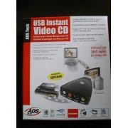 ADS USB Instant VideoCD - Adaptateur d'entrée vidéo - USB - NTSC, PAL
