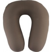 Magasin Solid Travel Pillow Pack of 1(Grey)