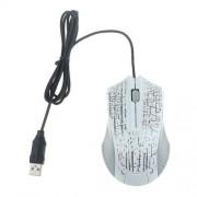 Repedezett mintás USB-s egér