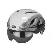 Bell Star Pro Shield Casco bianco/nero 51-55 cm Caschi biciclette da corsa