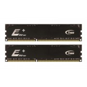 2 Go Barrettes de RAM Team Elite Plus Black DDR2 PC2-6400 800MHz (6-6-6-18) 2x1 Go