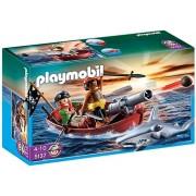 Playmobil Piratenroeiboot met Hamerhaai - 5137