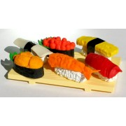 Gomme per cancellare a forma di SUSHI - set da 6 pezzi
