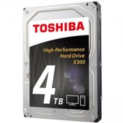 Твърд диск Toshiba X300 - High-Performance Hard Drive 4TB (7200rpm/128MB), BULK, HDWE140UZSVA
